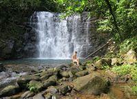 Водопады в парке Миндо