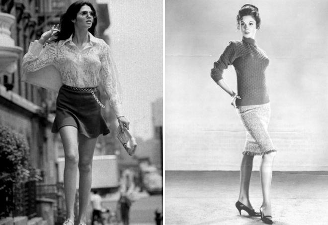 история мини юбки