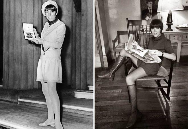 создательница мини юбки