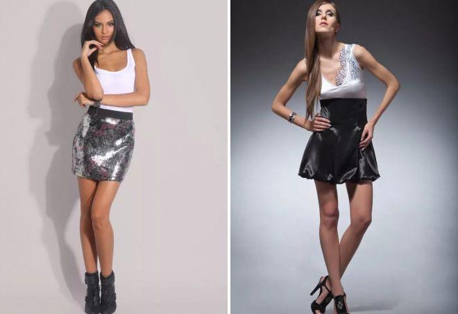 женские мини юбки 2017