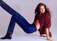 Брук Шилдс в рекламе Calvin Klein Jeans