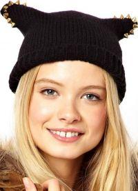 Модели плетених шешира 15
