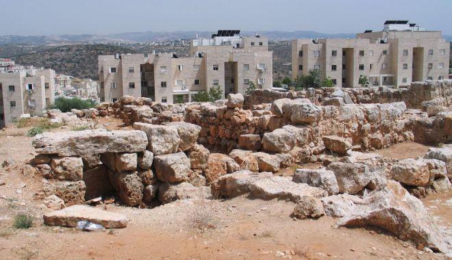 Руины древнего поселения