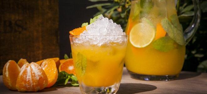 Pomarańczowy mojito