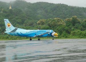 Самолеты в аэропорту Моламьяйна
