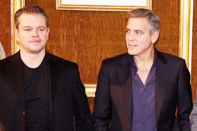 Мэтт Деймон и Джордж Клуни