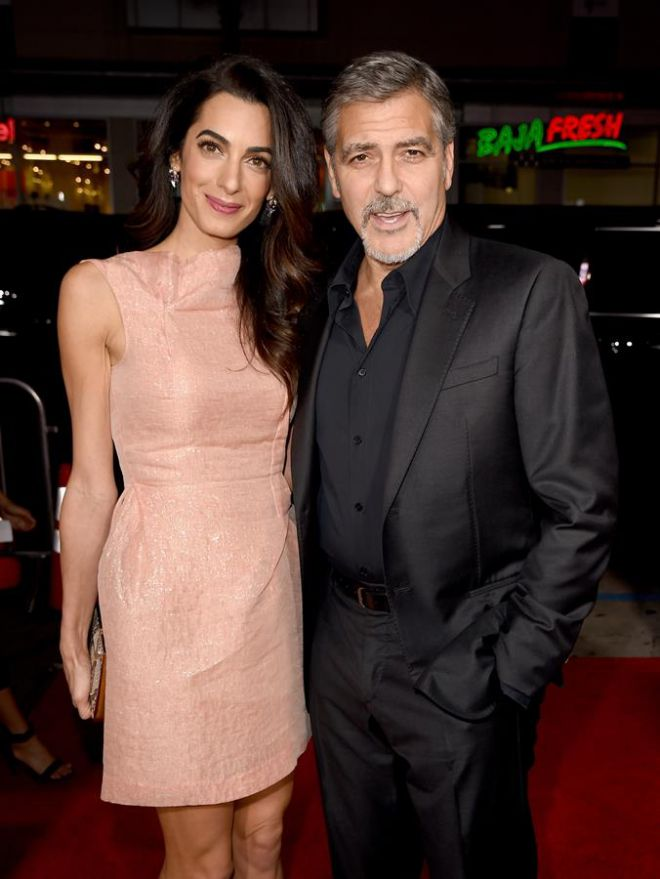 Джордж и Амаль Клуни ждут первенцев