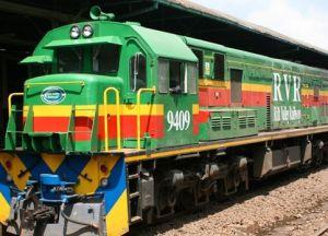 Поезд Найроби-Момбаса