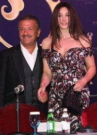 Моника Белуччи и Тельман Исмаилов на открытии отеля в Турции
