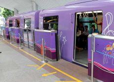 Sentosa Express на станции