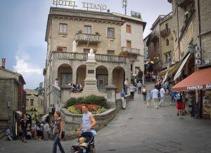 Отель Титано и улочки Сан-Марино