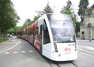 Трамваи в Монтре