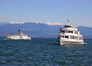 Курсирующие корабли Монтре