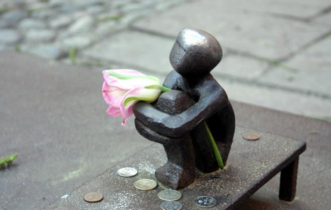 Самый маленький памятник Швеции