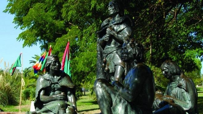 Монумент индейцам чаруа