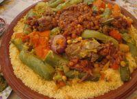 Марокканский кус-кус