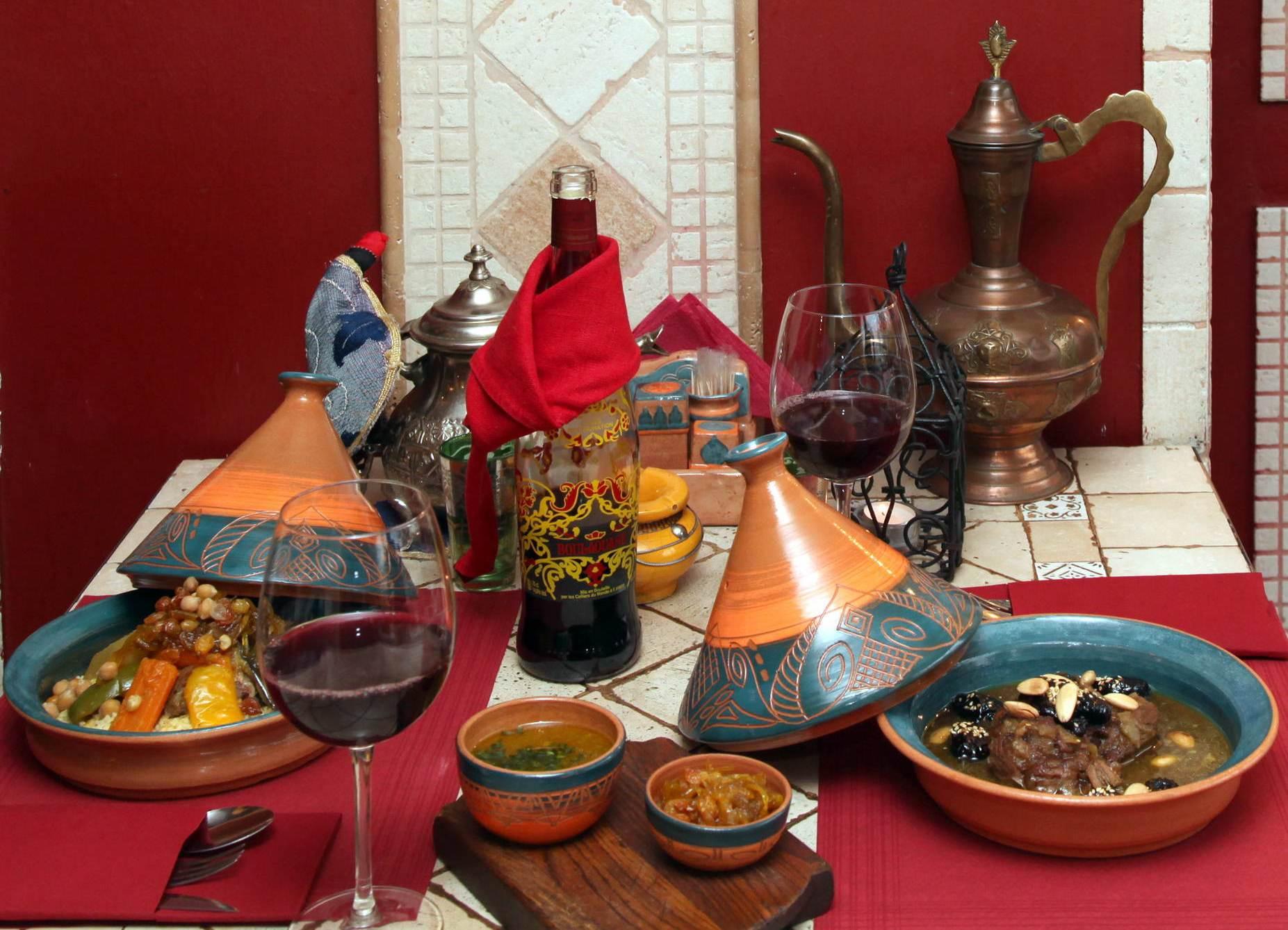 Ужин в Марокко