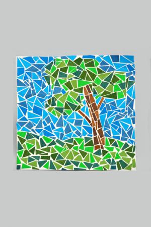 mozaik obojenog papira 2