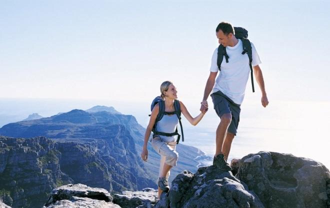 Пеший туризм в горах Омана