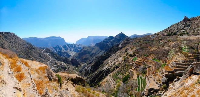 Горы Эль-Ахдар