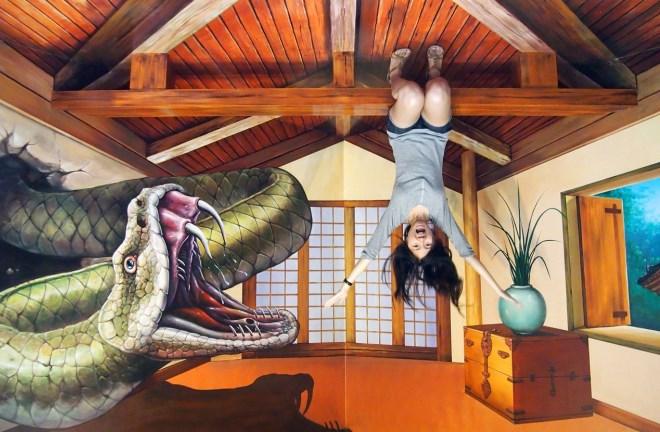 Музей иллюзий в Сеуле