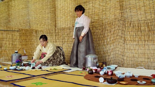 Корейская чайная церемония