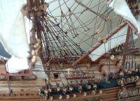 Экспонат, посвященный морской тематике