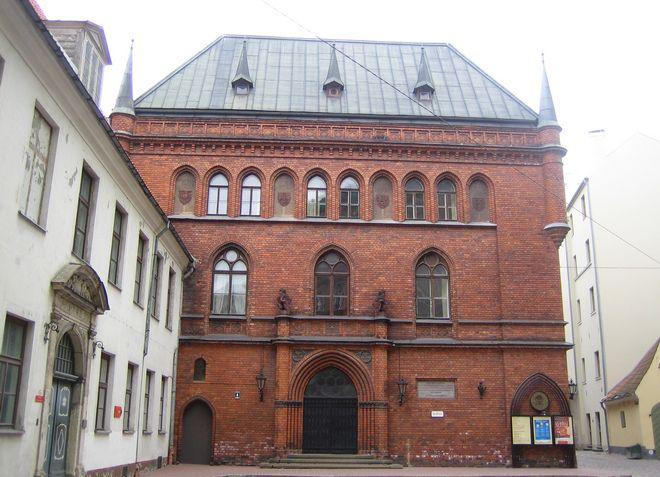 Здание Домского ансамбля, где расположен музей