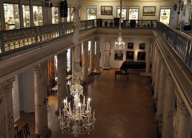 Внутреннее убранство музея