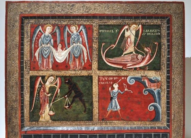 Экспонат музея репродукции романского искусства