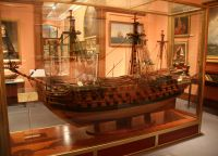 Морской музей Мадрида. Макет корабля