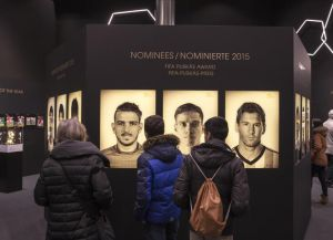 Внутри музея ФИФА