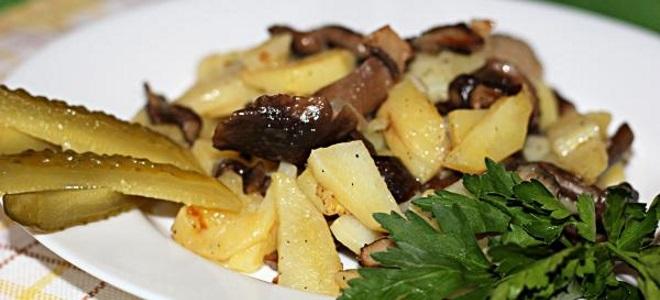 Сушене печурке са кромпиром