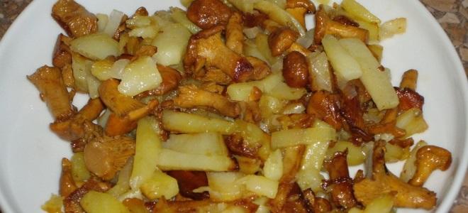 Пржени кромпир са медом печурке замрзнут