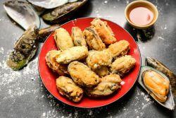 Пържени речни миди - рецепти за готвене