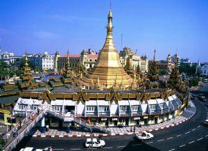Янгон панорама
