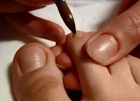 Paznokcie palców stopniowo 2
