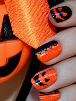 Halloweenowe paznokcie 11