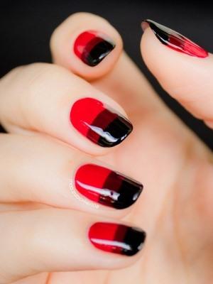 Halloweenowe paznokcie 14
