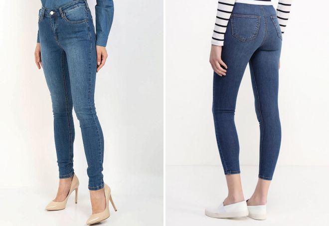 какой длины должны быть узкие джинсы