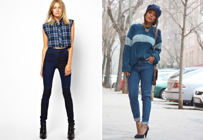 какой длины должны быть зауженные джинсы
