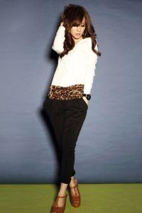 Smukłe spodnie dresowe 1