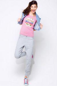 Spodnie dresowe Slim Fit 3