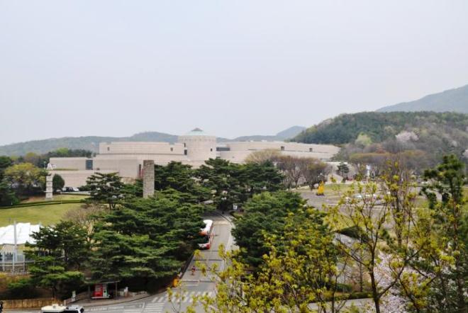 Панорама парка и музея