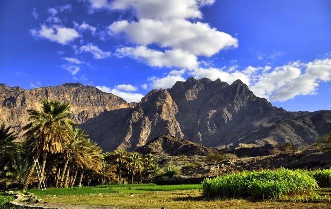 Национальные парки Омана