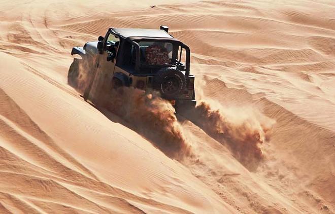 Сафари на джипах по пустыне