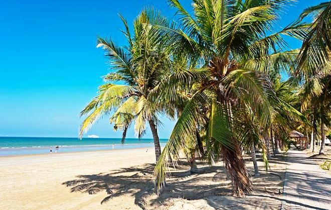 Пляж в Маскате