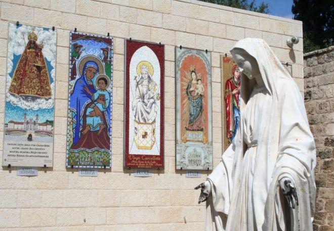 Памятник Деве Марии