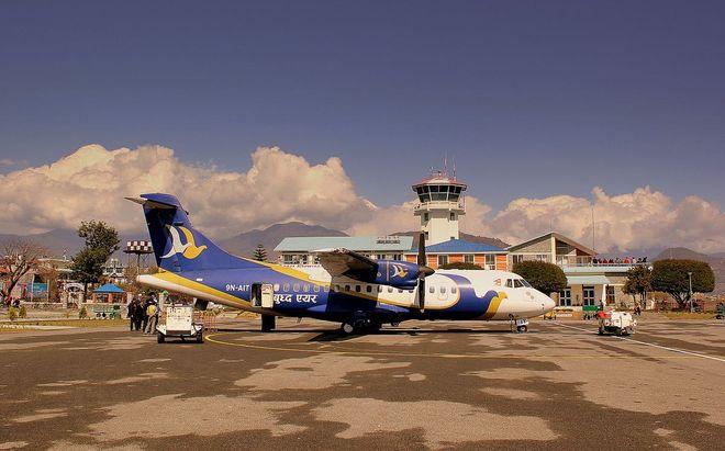 Аэропорт Покхара в Непале