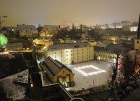 Ноймюнстерское аббатство ночью